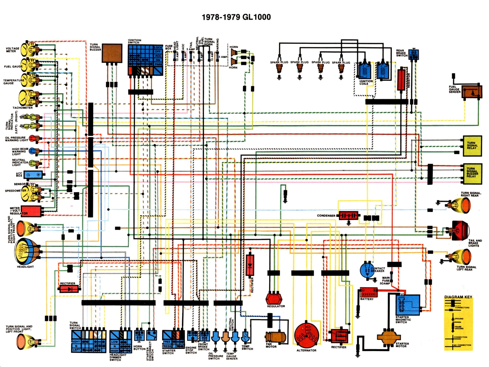 WRG-1635] 1987 1100 Virago Wiring Diagram Free Download