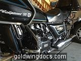 1977 GL1000 with Windjammer