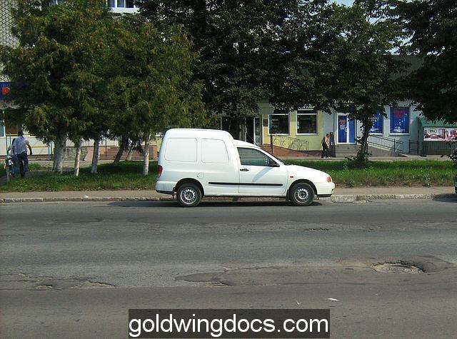 w dość dużym mieście Drohobycz ulice nie lepsze