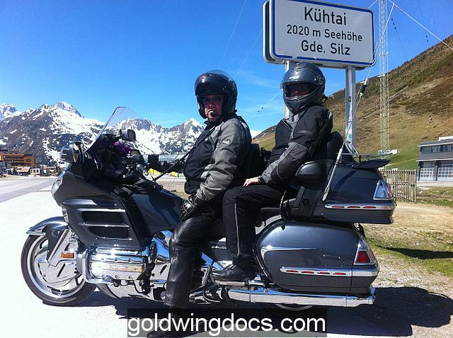 Riding from Austria to Switzerland
