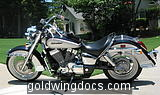 2004 Honda 750 Shadow Aero.  This one I should have kept...
