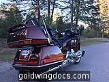 First ride on my first Goldwing