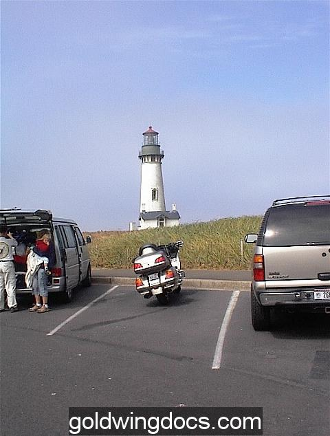 lighthouse off the coastal hwy.