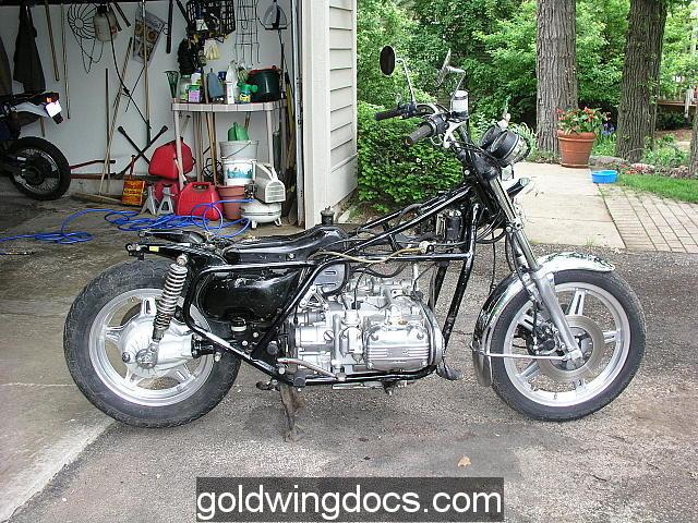 Member Picture Gallery • goldwingdocs.com: TreeTrans 78 GL1000 Resto ...