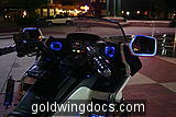 7-color LED system on GoldWing