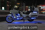 Goldwing and 7-color LED syste