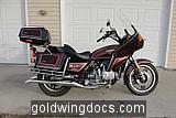 1980 GL1100 restoration