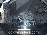 goldwing screen etching