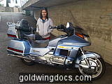 Mutita Schmassmann and the Gold Wing