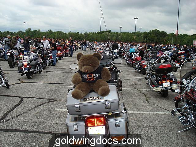 2006 Teddy Bear Ride - 10,000 bikes!