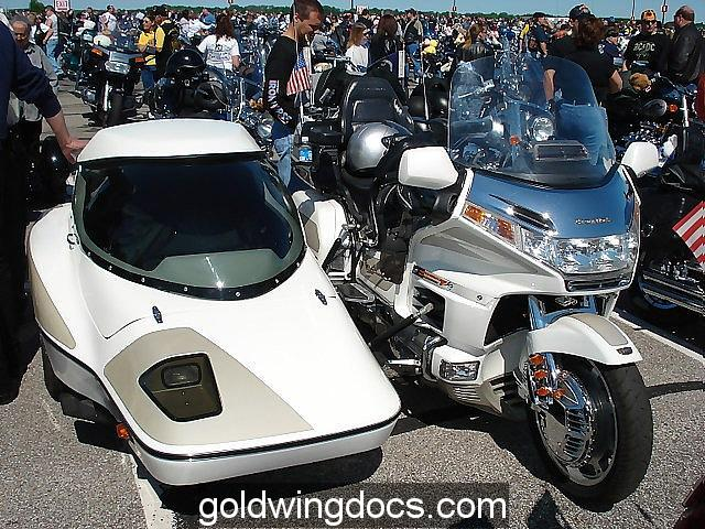 Sidecar on a GL1500
