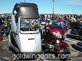 Sidecar on a GL1800