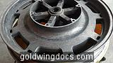 Used front wheel off of EBAY