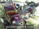 95 GL 1500 SE Goldwing Voyager Convertible trike