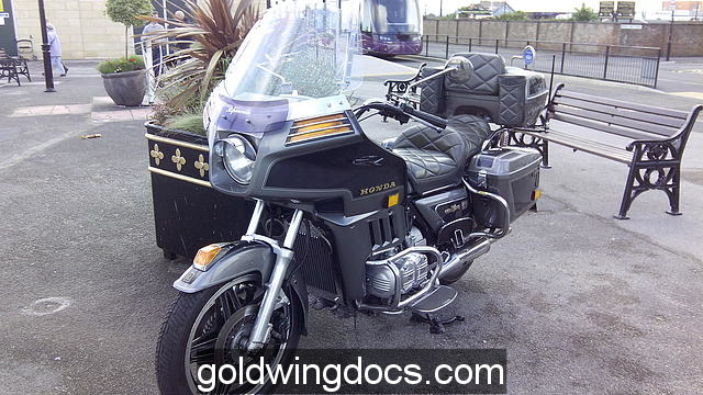 1983 GL1100AD Fleetwood Lancashire UK 19/07/15