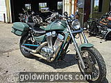 Not the Goldwing but a new story of endings.