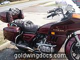 1983 Goldwing, This is what it looked like when I bought it.