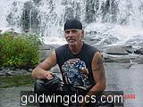 Me at Bond Falls In Michigans Upper Peninsula