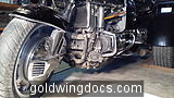 20151122 090114 Timing belt change on my first Goldwing. This is 1994 GL1500A with 61810 miles.