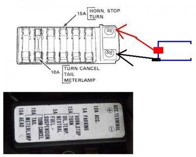 Install 12 Volt Power Outlet Help Gl1100 Information Questions Goldwingdocs Com