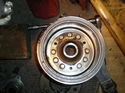 Starter clutch not engaging/'84 Aspencade • GL1200