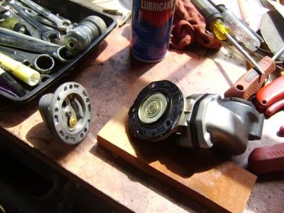 honda gl1000 fuel pump leak