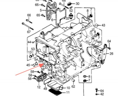 clutch handle loose wires • GL1000 Information & Questions