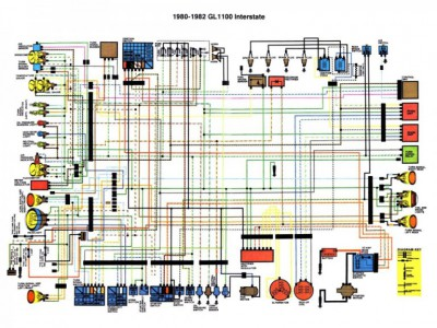 File on Honda Goldwing 1500 Wiring Diagrams