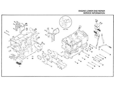 primary chain oil shroud • GL1000 Information & Questions