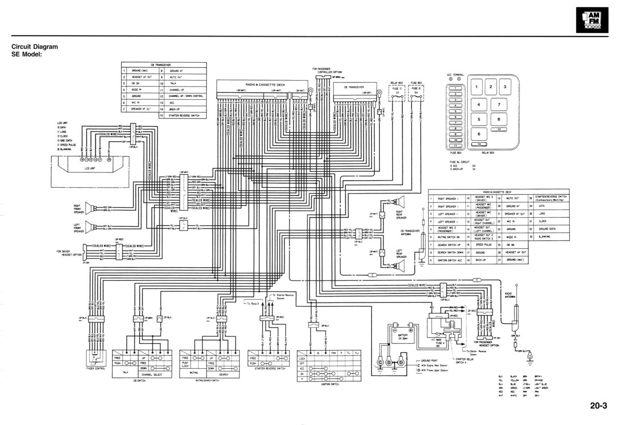 se audio circuit diagram
