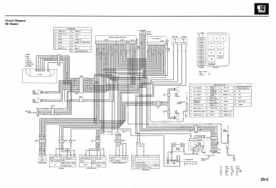 1997 1500 SE wiring diagram • GL1500 Information