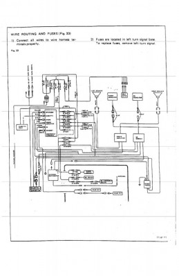 Wiring diagram layout for Honda Clarion Type 1 • Reference
