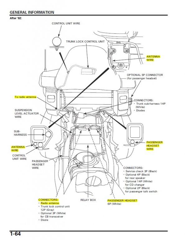 Rear Intercom Plug location? • GL1800 (2001-2017