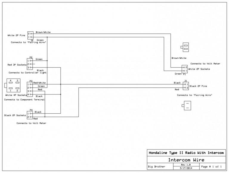 Wiring Diagram Hondaline Clarion Ii