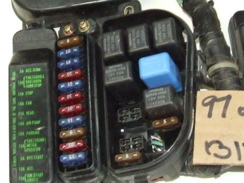 fuse box covers removal  u2022 gl1500 information  u0026 questions car fuse box
