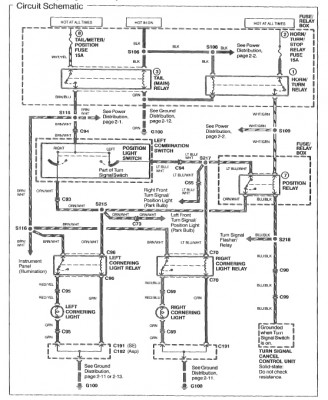 cornering light conversion • GL1500 Information
