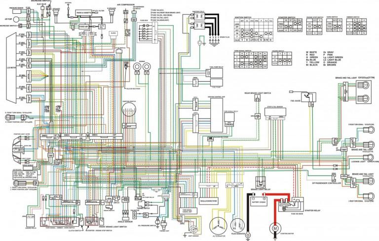 wiring diagram 1985 honda gl1200  honda  auto wiring diagram