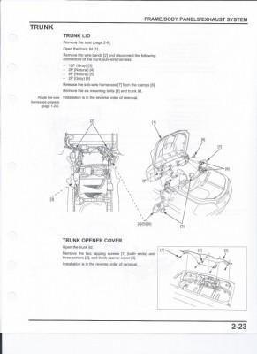 GL 1800 Trunk Lid Removal • GL1800 (2001-2017) Information