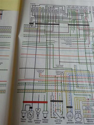 1985 goldwing wiring diagram radiator fan not working 1200  1986      gl1200 information  radiator fan not working 1200  1986