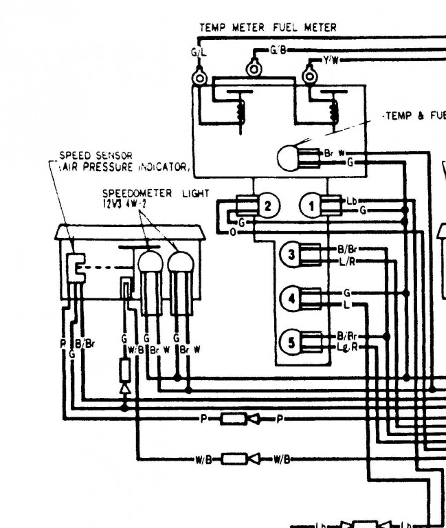 Speedometer Wiring • GL1100 Information & Questions