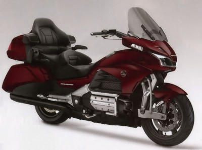 Honda's New GL1800: With Leading-Link Front Suspension • Goldwing