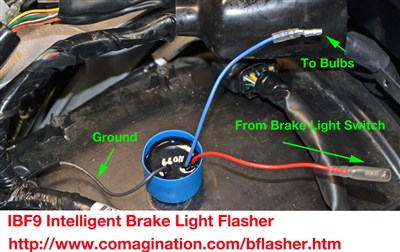 Surprising How To Install Brake Light Flasher Gl1800 Diy Articles Wiring Cloud Hisonuggs Outletorg