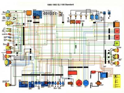brake light misc wiring gl1100 information questions. Black Bedroom Furniture Sets. Home Design Ideas