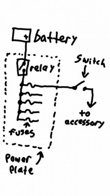 Wiring accessory switches question • GL1500 Information