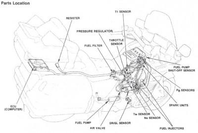 1986 GOLDWING ASPENCADE RUNS AND STOPS • GL1200