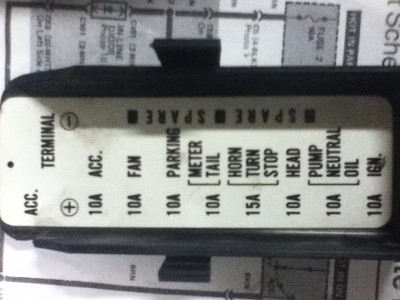 86 Aspencade Fuse Panel Diagram Gl1200 Information Questions