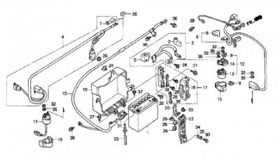 Starter sticking on a 2000 GL1500. • GL1500 Information