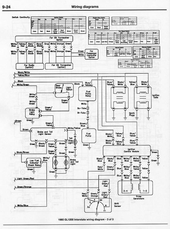 1986 Gl1200 Wiring Diagram Cb1100 Wiring Diagram ~ Elsavadorla