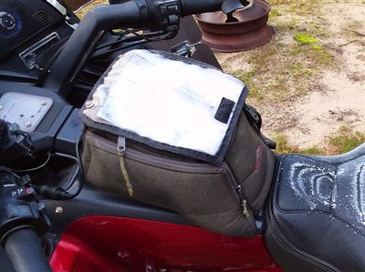 Only Other Suggestion I Have Is Getting A Pair Of Hopnel S Fairing Pocket Pouches For Your Left And Right Lids Or The Dash Pouch