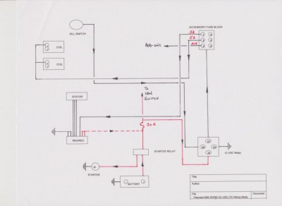 gl1200 wiring diagram gl1200 image wiring diagram 1985 gl1200 le maintenance post maintenance report electrical on gl1200 wiring diagram